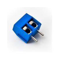 Terminal Block PCB 2 Pin 5.0mm Biru