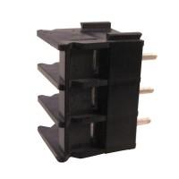 Terminal block 3 pin modular w/o wall p6.35mm