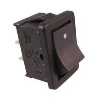 Switch On Off DC (Rocker Switch 2 Pin Hitam)