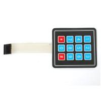 Keypad Membran Matriks 3x4 (Telephone)