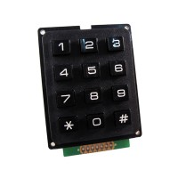Keypad Rubber Matriks 3x4