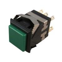 Pushbutton Switch DKD2-324 Green Push On