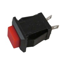 Pushbutton Switch DDS-2430 Red Push On