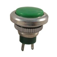 Pushbutton Switch DDS-0432 Green Push On