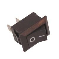 Switch On Off DC (Rocker Switch 2 Pin Hitam KW2)
