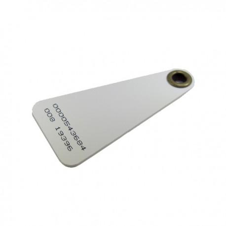 RFID 125KHz Keychain Gantungan Kunci RFID White K02