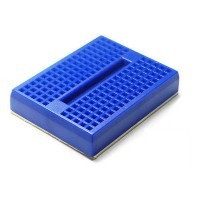 Mini Bread Board 4.5x3.5cm 170 Holes - Blue