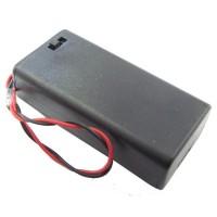Box Battery 2xAA /w switch
