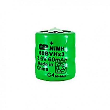 Battery NiMH GP60BVH3A2H 3.6V