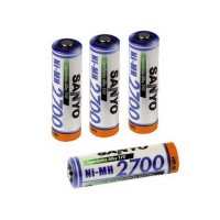 Battery Ni-MH 2700 mAh AA size (1pc) Sanyo