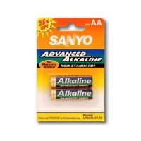 Battery alkaline AA size (2pc) Sanyo
