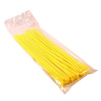Kabel Ties / Cable Ties 20cm Yellow 2.5mm (50pcs)