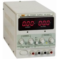 DC Power Supply PS-303D, 0-30V, 3A
