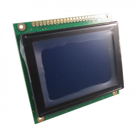 Graphic LCD 128x64 (C) /w blue STN white backlight
