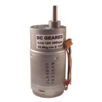 GM370014 DC Gear Motor, 12V, 1:14, 295rpm with speed encoder