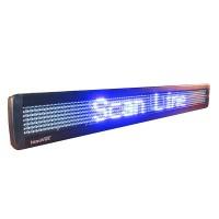 LED Message Display w/ 95 Pixels Width, 83,5x9,8x3,5cm, single line, 7x95 dots, Blue