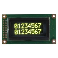 LCD OLED Display Character 8x2 Yellow Kuning