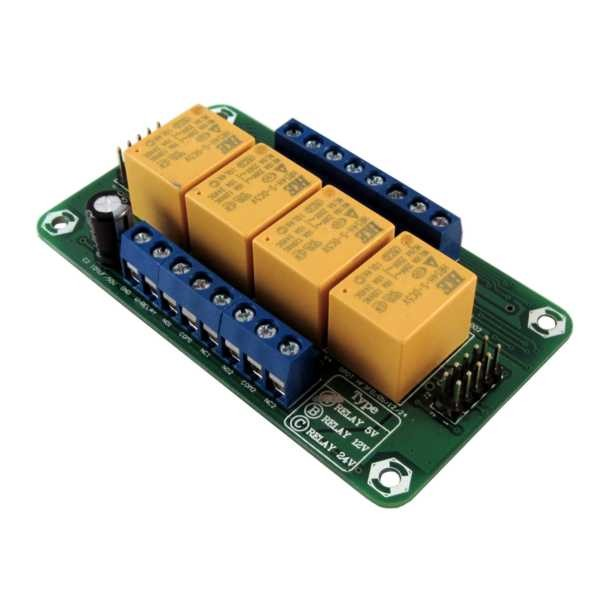DT-I/O Quad Relay Board - 0510 - Digiware Store