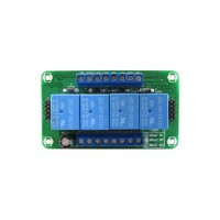 Relay Module 4 Channel 12V 10A DT-I/O Quad Relay