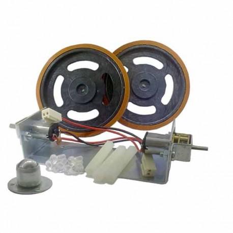 Motor DC Gearbox Metal Mini Wheel Set DT-ROBOT