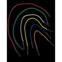 Kabel Jumper Arduino Male to Male Dupont isi 65 kabel panjang mix