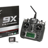 Turnigy 9X 9Ch Transmitter w/ module and 8Ch Receiver (Mode 1, V2 Firmware)