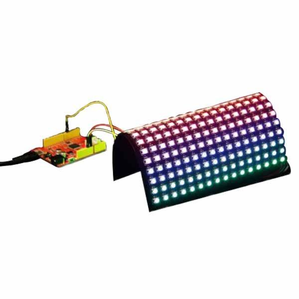Flexible 16x16 RGB LED Matrix w/ WS2812B - DC 5V