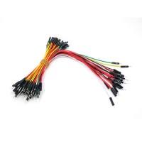 Breadboard Jumper Wire Pack (25pcs 200mm / 50pcs 100mm)