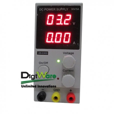 DC Power Supply LW-K305D, 0-30V, 5A