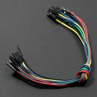 "Jumper Wires 9"" F/F (10 Pcs)"