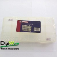 Project Box Enclosure Plastic D00415, Compartment Boxes 382X234X48mm