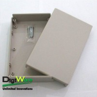 Plastic Case, UL94V-0 Flame-resistant type, LightGray (160x100x38 mm)