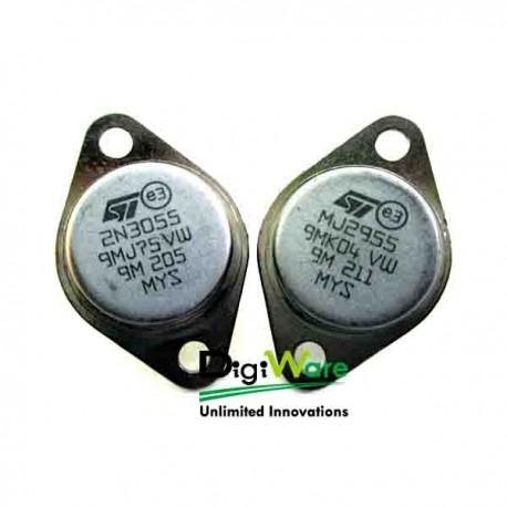 2N3055 + MJ2955 (merk ST)