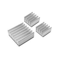 Aluminium Heat sink with Silver Color for Raspberry Pi