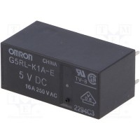 Relay SPST-NO OMRON 5VDC 16A (G5RL-K1A-E-DC5)