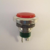 Pushbutton Switch DS-312 Red Push On