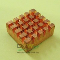Copper Heat Sink with adhesive sticker for Raspberry Pi