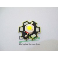 LED White High Power 1W 30lm