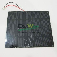 5V 400mA Monocrystalline PET Solar Cell