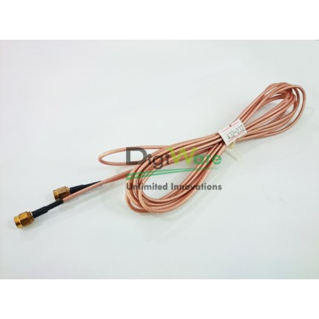 RFID antenna cable SMA Male to SMA Male Length 306.3 cm