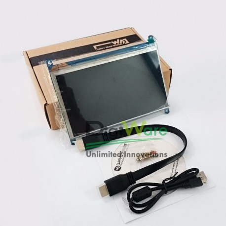 7inch Capacitive Touch Screen HDMI LCD (C), 1024x600, IPS, supports various systems