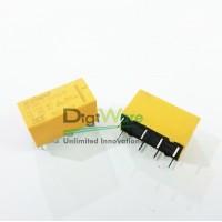 Relay DPDT HKE 12VDC 1A 120VAC HRS2HS-DC12V-N