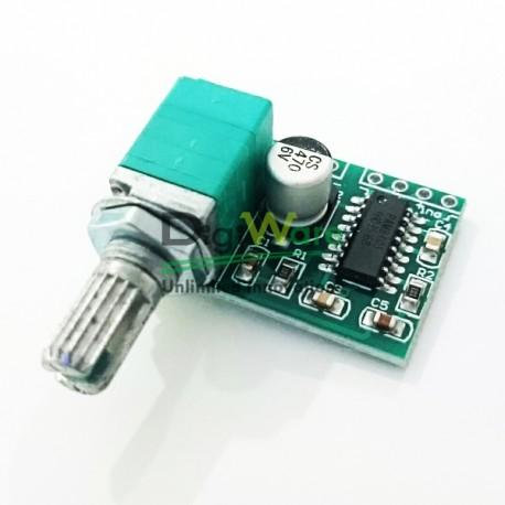 PAM8403 2 X 3W 5V Mini Class D Audio Amplifier Board - Digiware Store