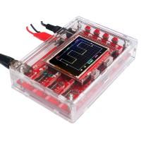 DSO138 Pocket-size Digital Oscilloscope Kit (DIY Parts Handheld + Acrylic Case Cover Shell)