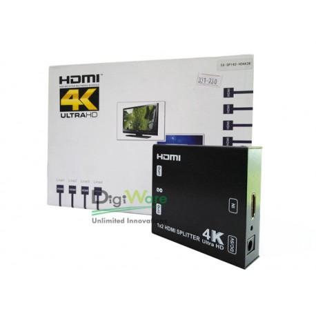 HDMI Splitter 1 Input to 2 Output