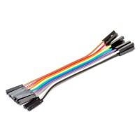 Breadboard Jumper Wire 100mm (1pcs) F/F