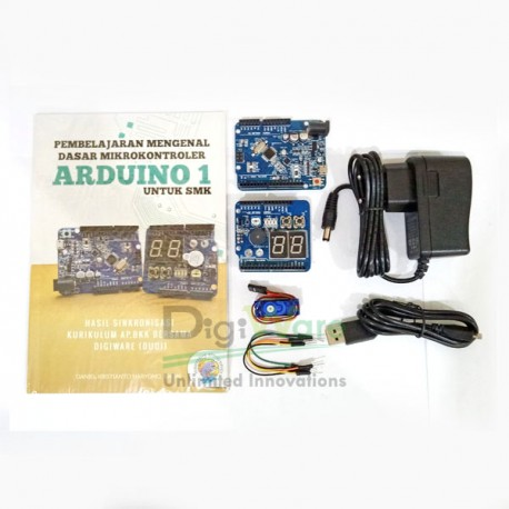 DT-AVR Uno R3 Starter Kit SMK (Arduino Uno R3 Full Compatible)