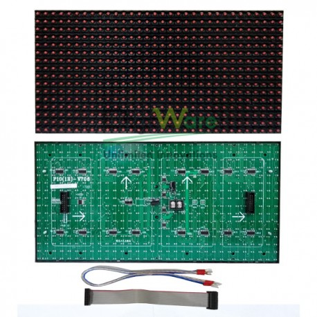 LED Module P10 Red Semi Outdoor Epistar