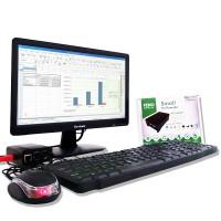 """Completo Feno Mini PC (Mini PC, LED Monitor 15.6"""" HDMI, Keyboard, Mouse)"""