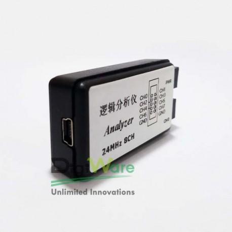 Saleae USB Logic Analyzer 24Mhz 8-Channel
